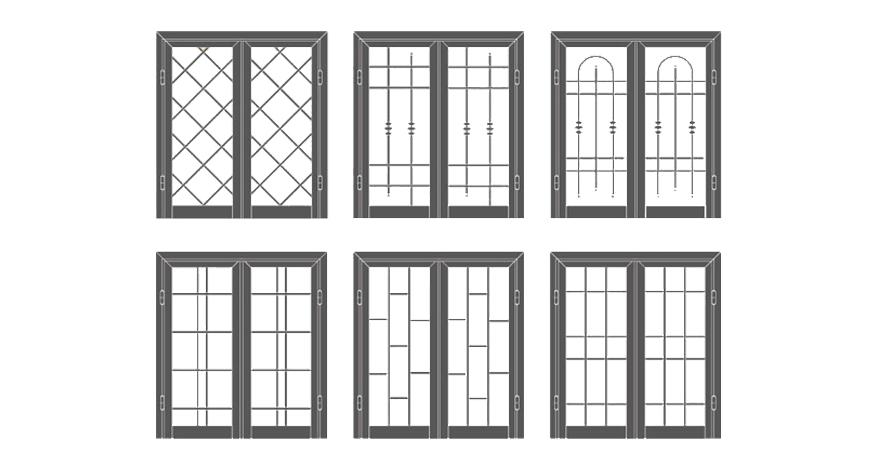 Grate di sicurezza tiburno nomentana serrande - Serrande per finestre ...