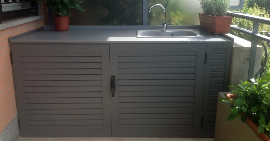 mobili in alluminio da esterno tiburno nomentana serrande